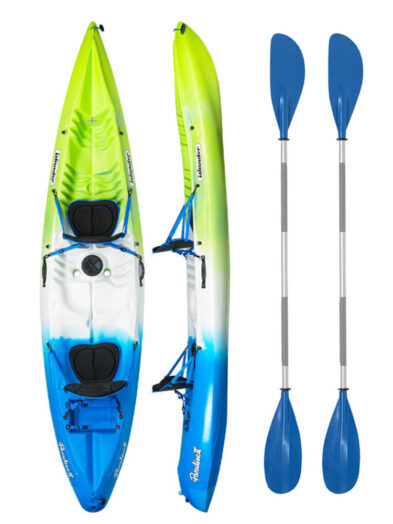 Islander Paradise 2 Emerald with Drift Paddles Package