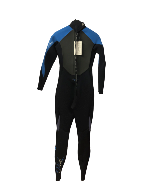 O'Neill Epic 3/2mm Back Zip Womens Spring/ Summer Wetsuit (SIZE 4 US/ 6 UK ONLY) Back View