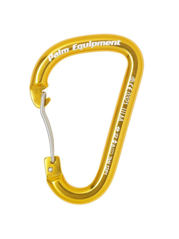 Palm Wire Gate Karabiner Gold