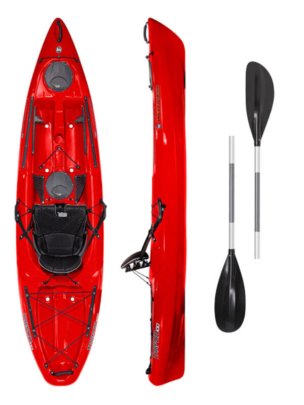Tarpon 100 RED with 2-Part Paddle