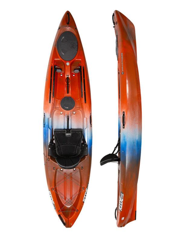 Wilderness Ride 115 Sit On Top Fishing Kayak 2019 Atomic