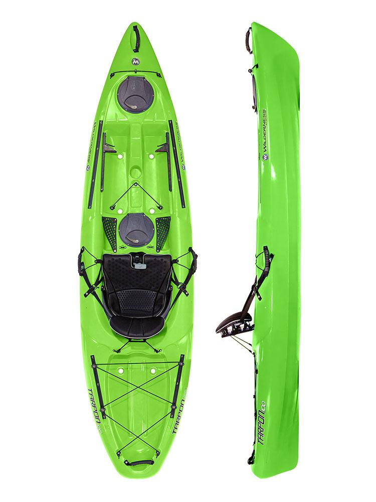 Wilderness Systems Tarpon 100 Lime Sit On Top Kayak 2019