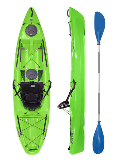 Wilderness Systems Tarpon 100 Lime with Drift Paddle Package