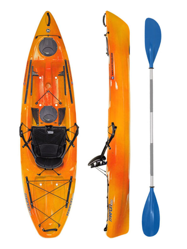 Wilderness Systems Tarpon 100 Mango with Drift Paddle Package