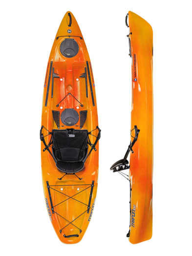 Wilderness Tarpon 100 Mango Sit On Top Kayak