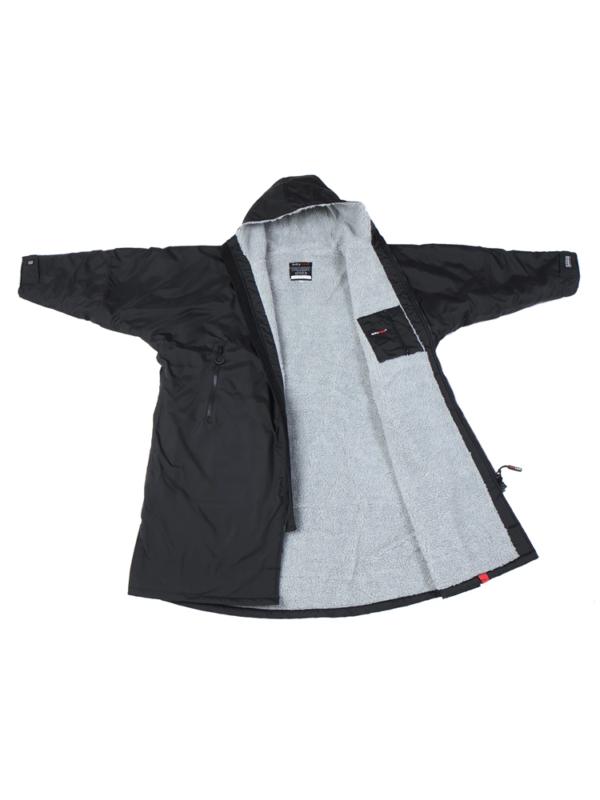 dryrobe Advance Long Sleeve BLACK GREY