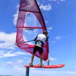 2019 Neil Pryde Glide Wind Foil Action Shot 3