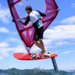 2019 Neil Pryde Glide Wind Foil Action Shot 4