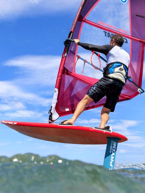 2019 Neil Pryde Glide Wind Foil Action Shot 5