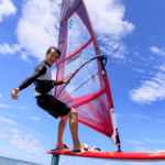 2019 Neil Pryde Glide Wind Foil Action Shot 7