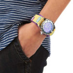 Animal Ladies Zepheresse Watch Purple/ Yellow