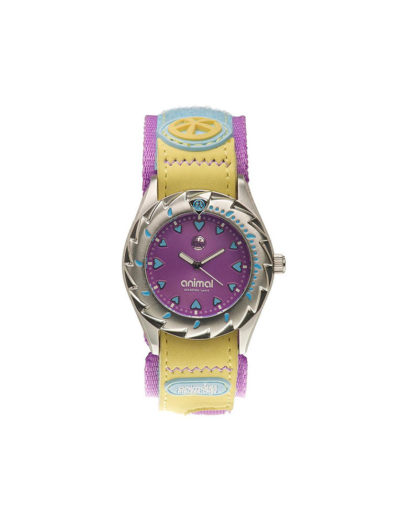 Animal Ladies Zepheresse Watch Purple Yellow