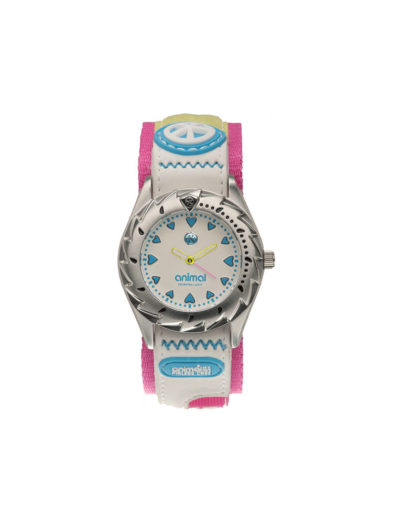 Animal Ladies Zepheresse Watch White Blue