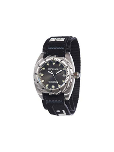 Animal Watches Men's Zepher Black Watch