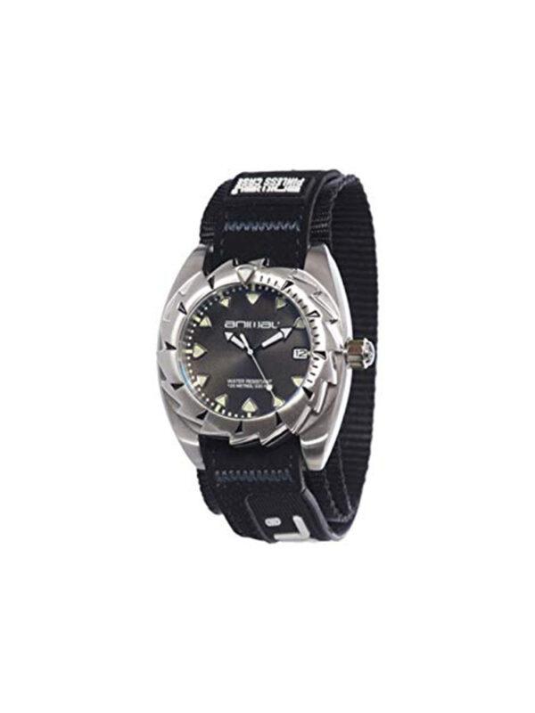 Animal Watches Men's Zepher Black Watch