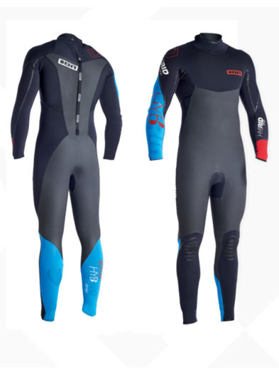 ION HYBRID AMP 5 4MM BACK ZIP MENS AUTUMN WINTER WETSUIT (SIZE MEDIUM TALL ONLY)