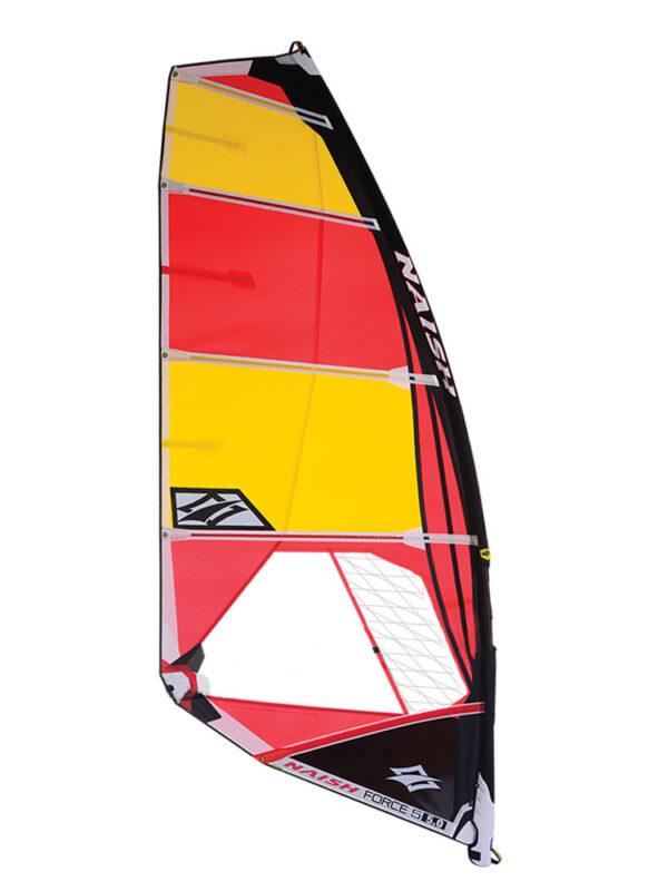 Naish 2019 Force V Sail Red-Yellow