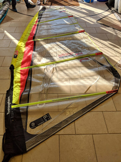 Tushingham Sails Storm F10 6.25m Freeride Windsurfing Sail