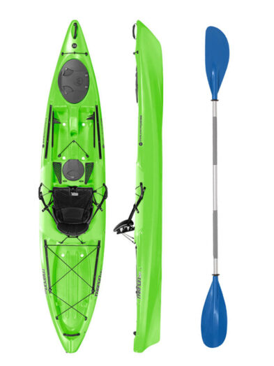 Wilderness Systems Tarpon 120 Lime with Drift Paddle Package