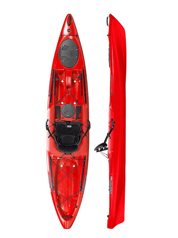 Wilderness Tarpon 120 Sit On Top Kayak 2019 Red