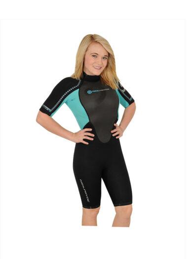 Neil Pryde 3000 3mm shorty ladies wetsuit