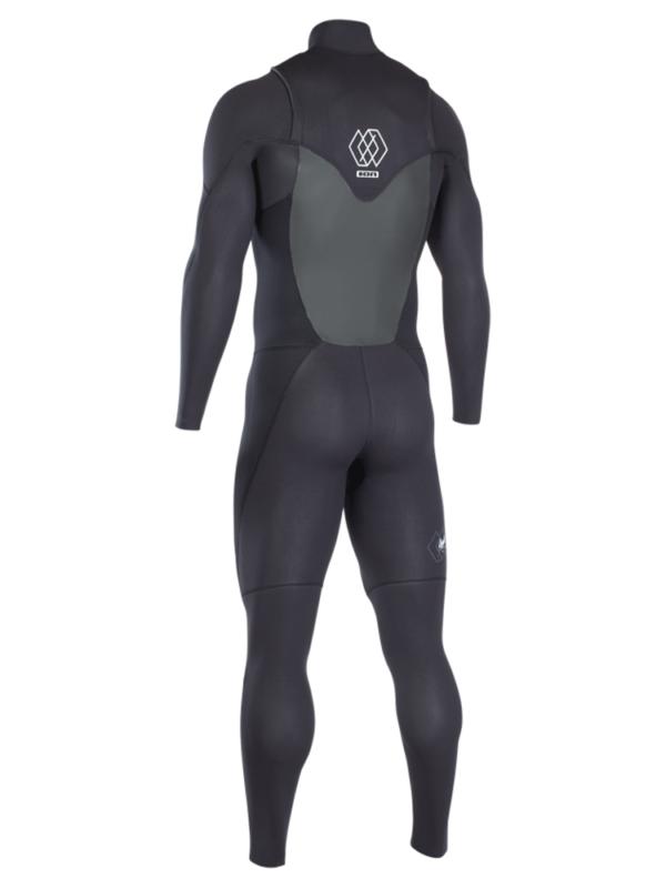 2019 ION Onyx Element Semidry 3/2mm Front Zip DL Wetsuit Back View