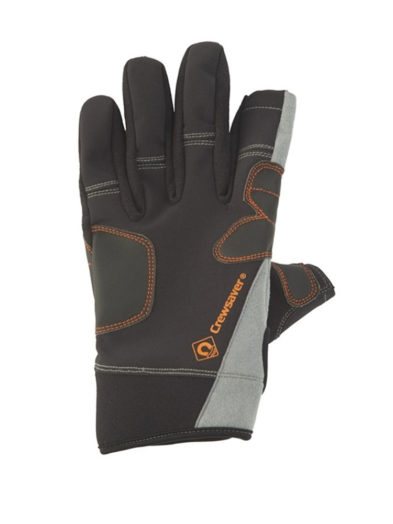 Crewsaver three finger sailing gloves back