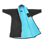 Dry Robe Long Sleeve Black-Blue