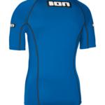 ION Promo Rashguard Mens Short Sleeve – Blue 2
