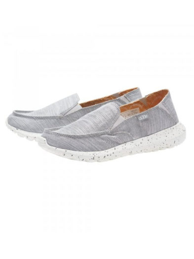 Ladies Ava Chambray Grey Pair