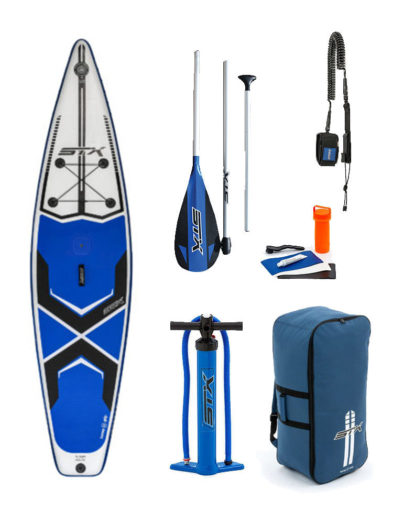 "11'6""X 32"" WINDSUP 2019 STX INFLATABLE PADDLEBOARD SUP PACKAGE BLUE"