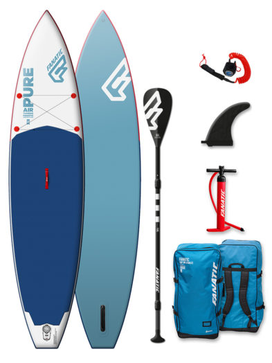 "2019 Fanatic Pure 11'6 x 31"" iSUP Inflatable SUP Paddleboard Package"