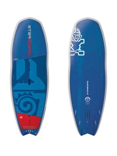 8'0''x 31.5'' Starboard Hypernut 4 In 1 SUP, SUP Foil, Windsurf and Windsurf Foil