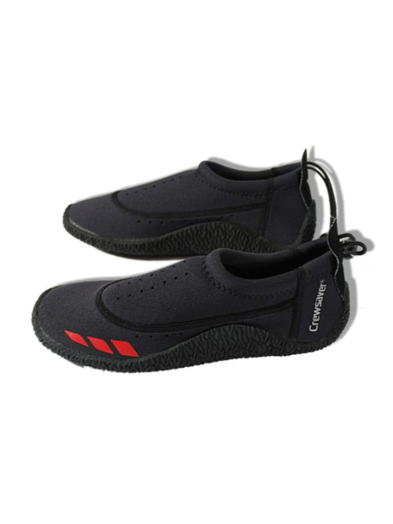Crewsaver Aplite Neoprene Summer Wetsuit Shoes - Navy/Red