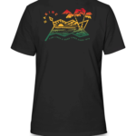 Dakine Electric Sunset T Shirt 10002359 Black 2