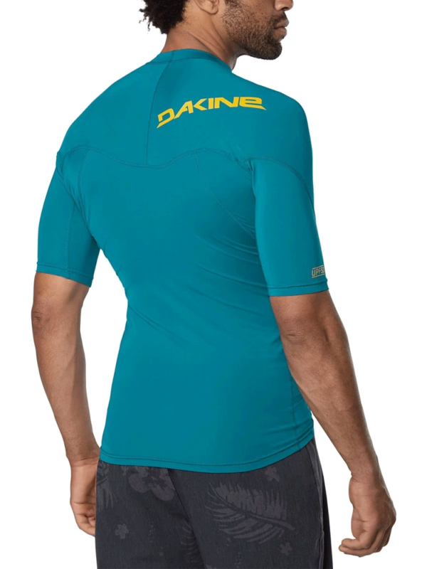 Dakine Heavy Duty Snug Fit Short Sleeve Rashguard- Seaford