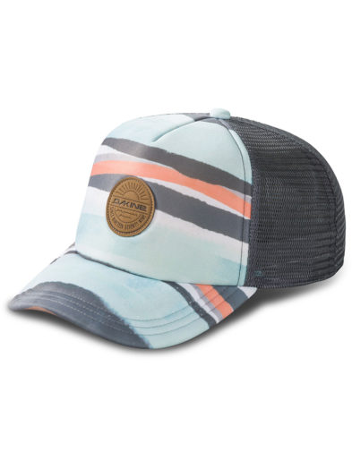 Dakine Lo' Tide Trucker Baseball Cap Hat 10001898 - Pastel Current