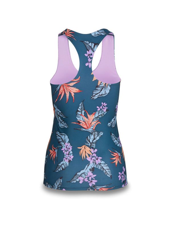 Dakine Women's Flow Snug Fit Tank Rash Vest 10002333 - Wimea Rear View