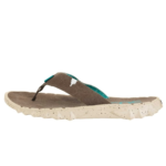 Hey Dude Shoes Sava Canvas Funk Wenge Flip Flops