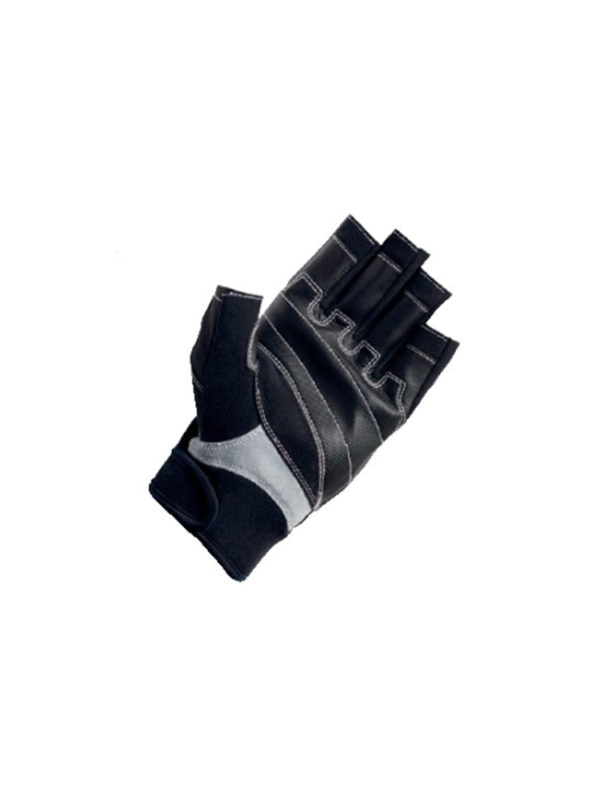 Crewsaver P2 Short Finger Glove - Black Grey 6928