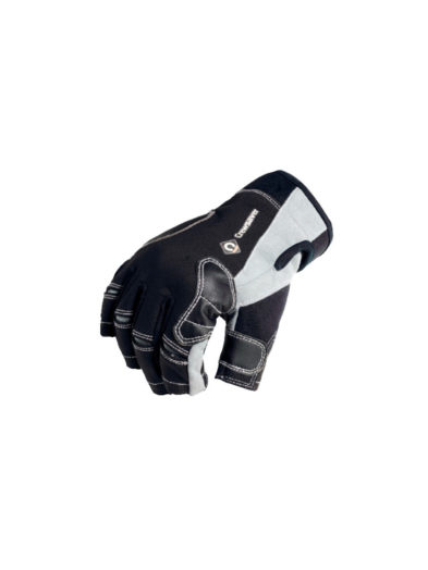 Crewsaver P2 Short Finger Glove - Black/ Grey 6928