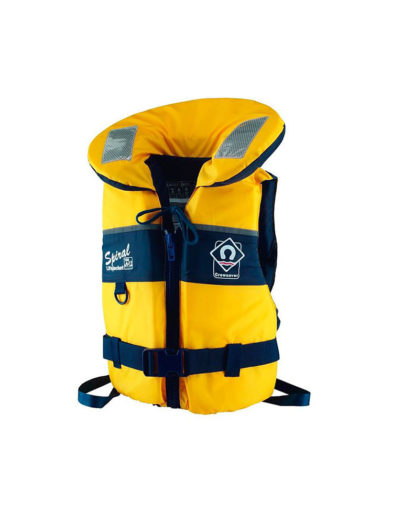 Crewsaver Spiral 100N Kids Life Jacket Yellow