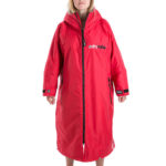 Dryrobe Advanced Long Sleeve Red Grey