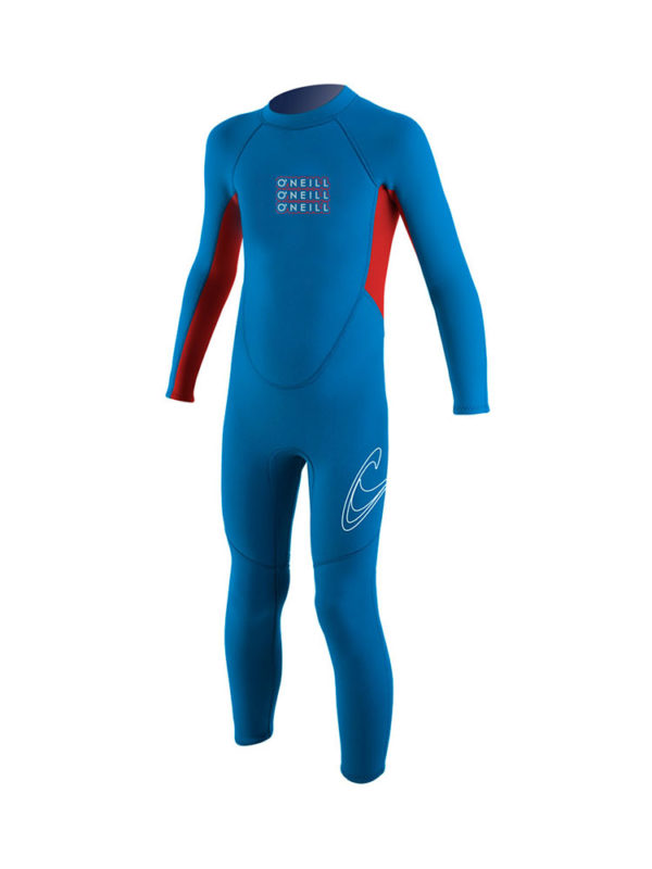 O'neill Toddler Reactor Full 2mm Summer Wetsuit Blue Red