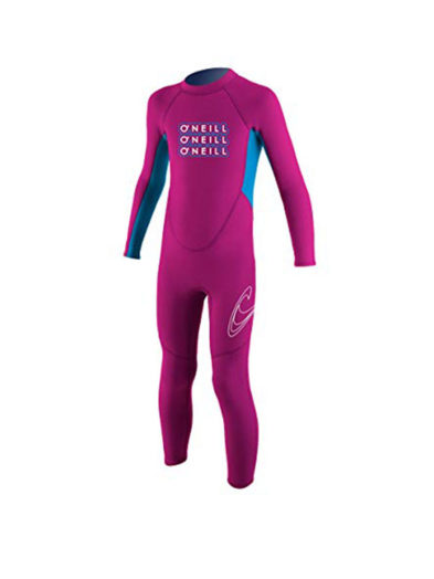 O'neill Toddler Reactor Full 2mm Summer Wetsuit Pink
