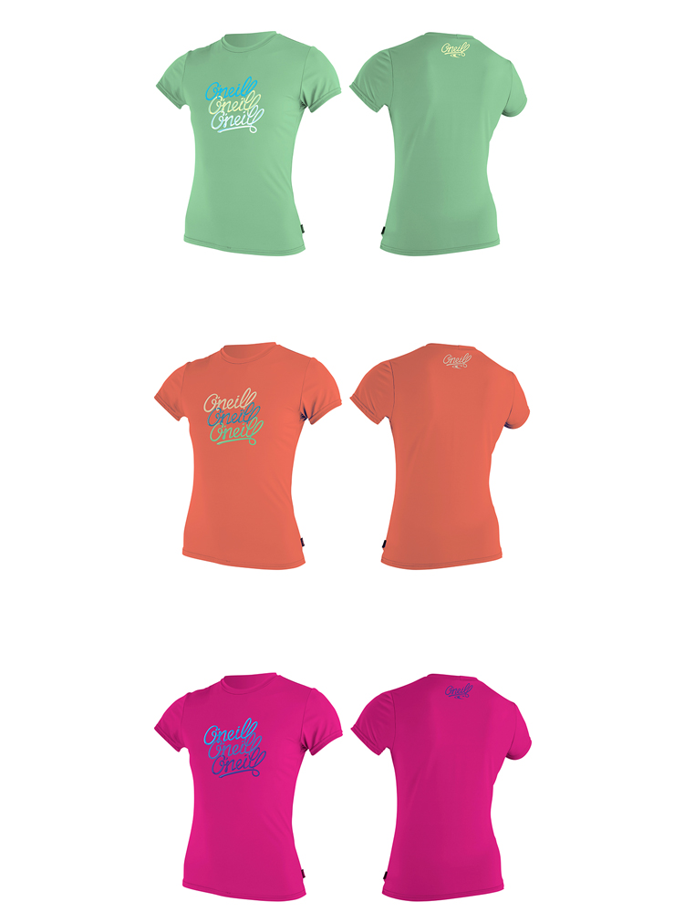 ONeill Girls Premium Skins Upf 50 Short Sleeve Sun Shirt