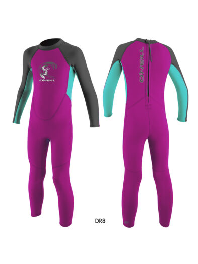 O'Neill Toddler Reactor 2mm Back Zip Full Wetsuit