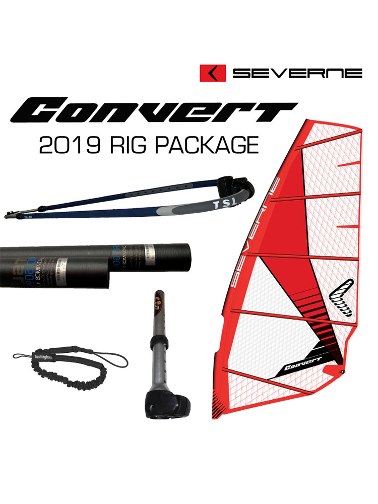 2019 Severne Convert 6 0m Windsurfing Rig Package (with RDM Mast)