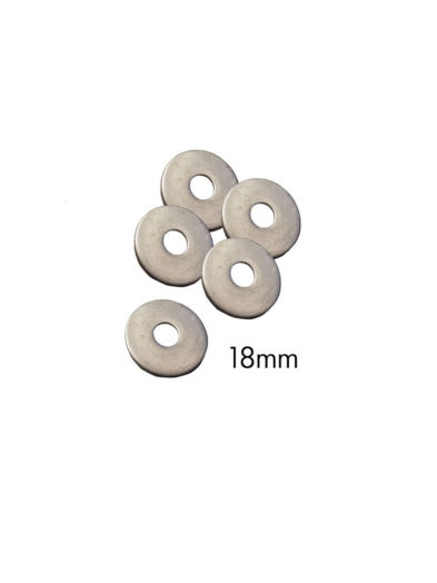 18mm Stainless Metal Washers For Windsurfing Fin bolts