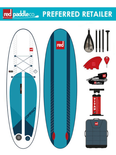 "Red Paddle Co 9'6"" Compact Package"